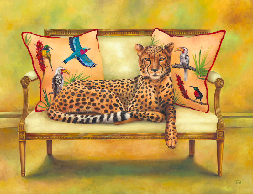 Cheetah at Leisure - Wildlife at Leisure Collection